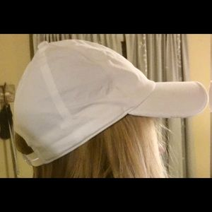 White Lululemon Hat